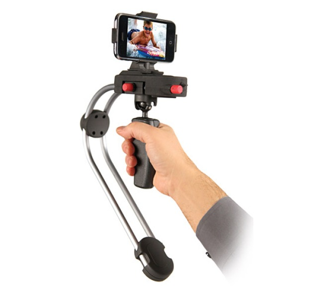 Steadicam Smoothee for iPhone Stabilizes Grainy Video
