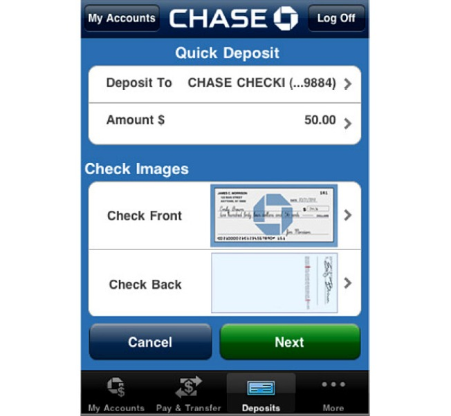 iPhone App Lets You Deposit Paper Checks From Anywhere