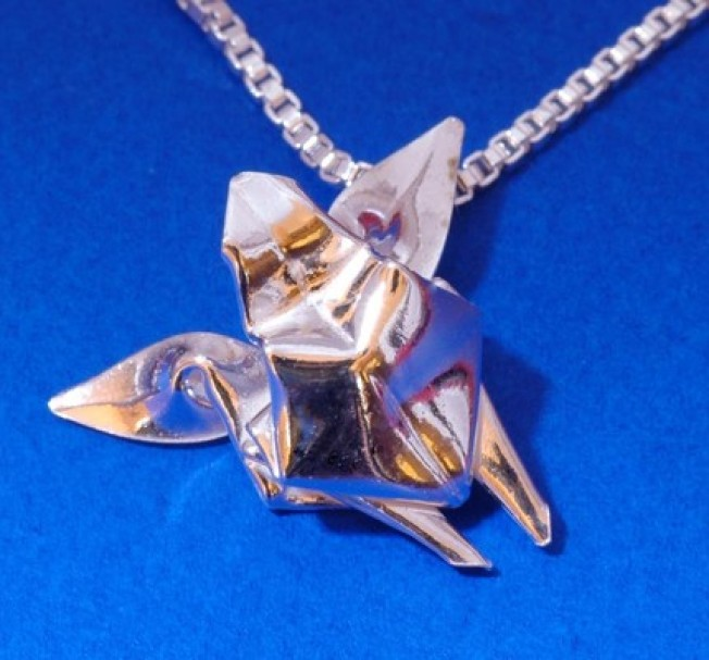 Origami Sea Turtle Necklace