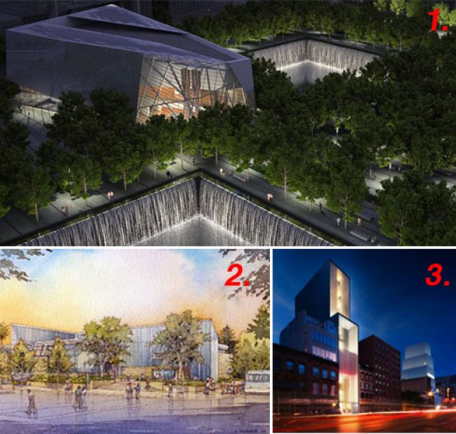 Curbed National: New WTC Memorial Revealed