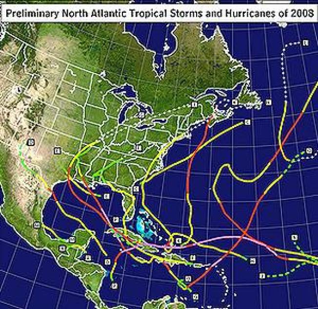 Record Atlantic Hurricane Season Ends, Time to Plan for 2009