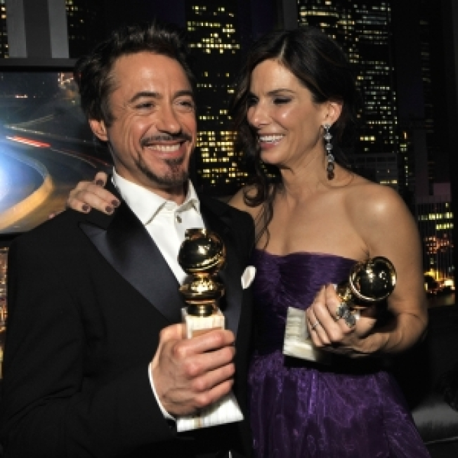 Golden Globe Parties Full Of Celebs, Booze & Rain