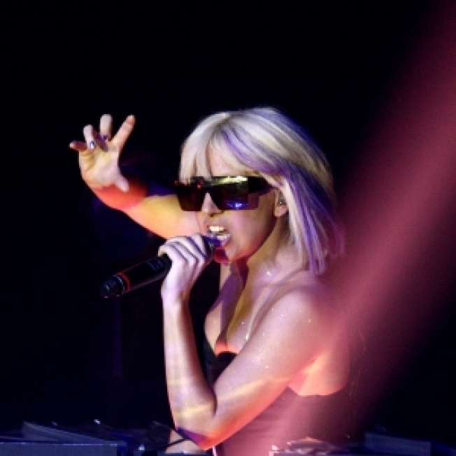 Lady GaGa Entertains Thousands At Palm Springs White Party