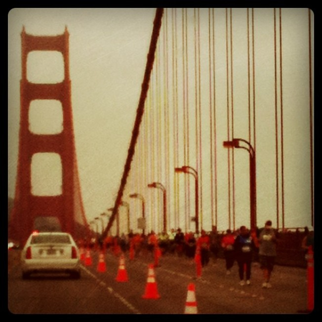 Engaging San Francisco Marathon on Sunday