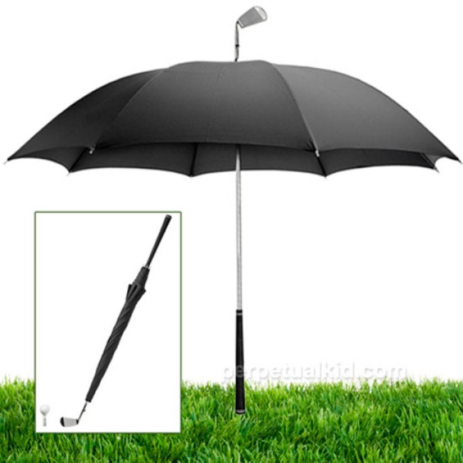Tee Up, Rain or Shine, With the Golf Umbrella