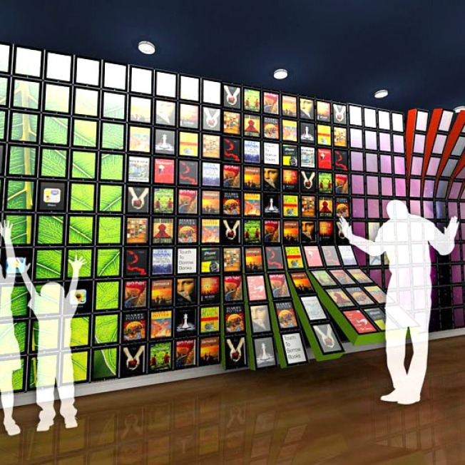 Concept iPad Wall Could Usher In Next-Gen Digital Library