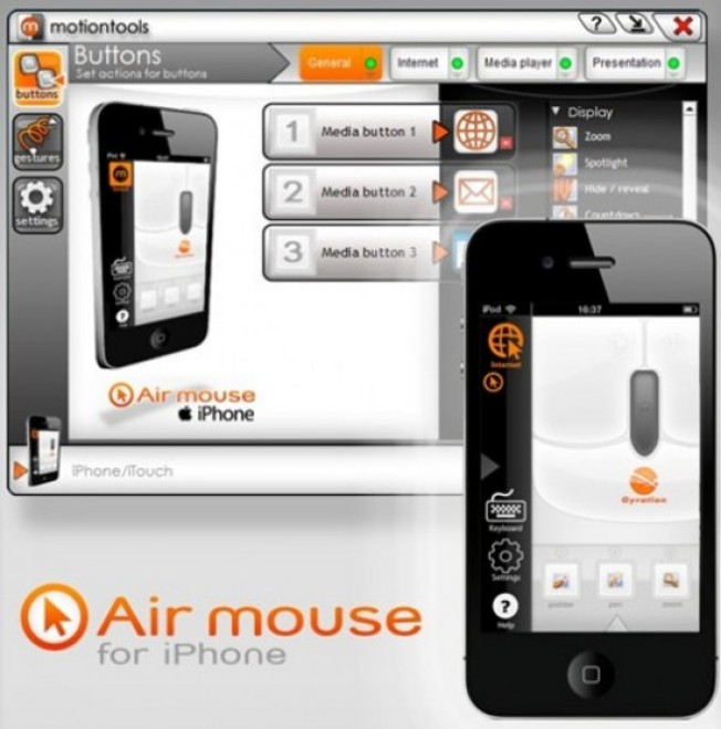 Air Mouse App Is the Swiss Pocket Knife for Powerpoint Freaks