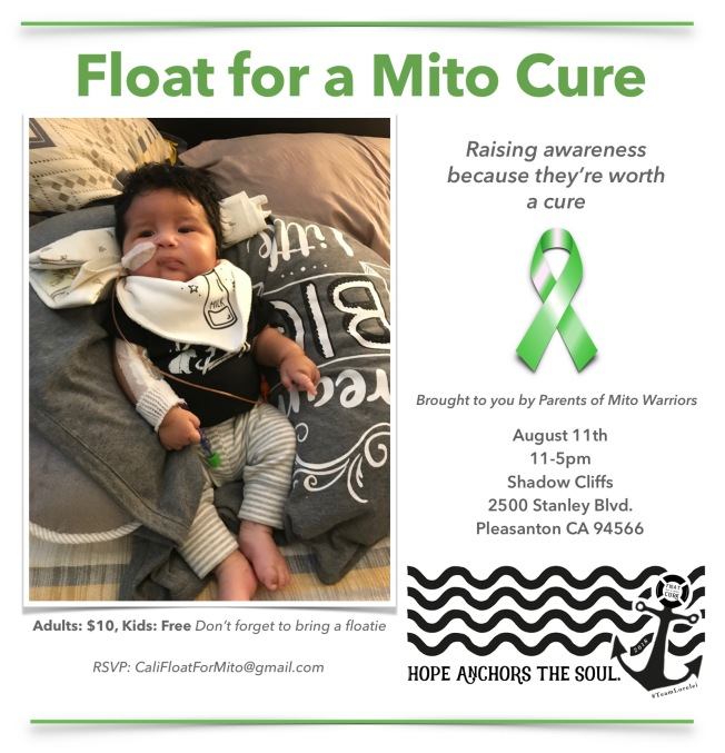 Float for a Mito Cure Fundraiser