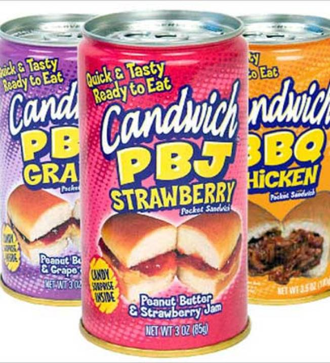 The Horror: The Candwich Is a Sandwich in a Can