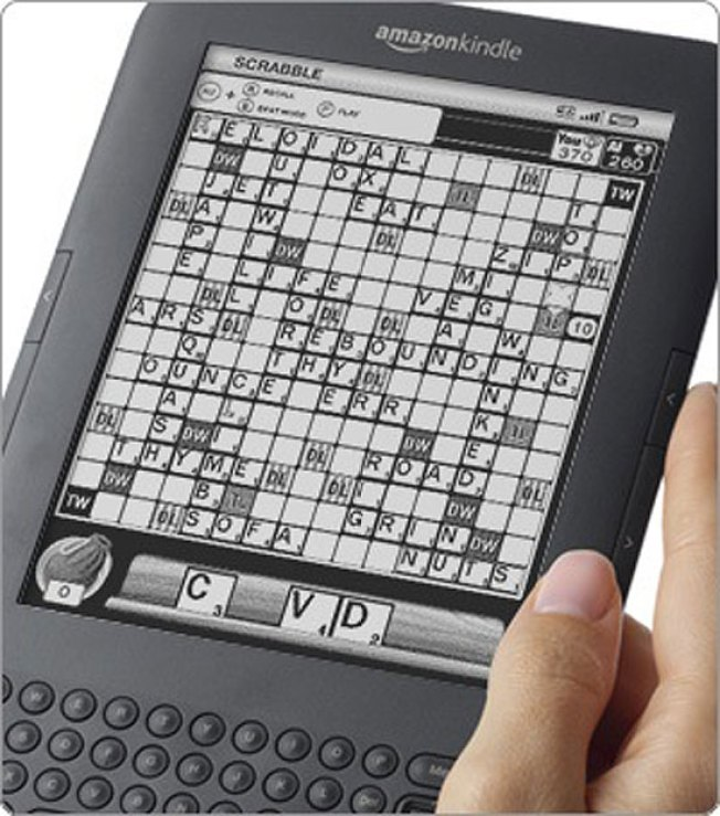 First App for Kindle Is Scrabble for Loners