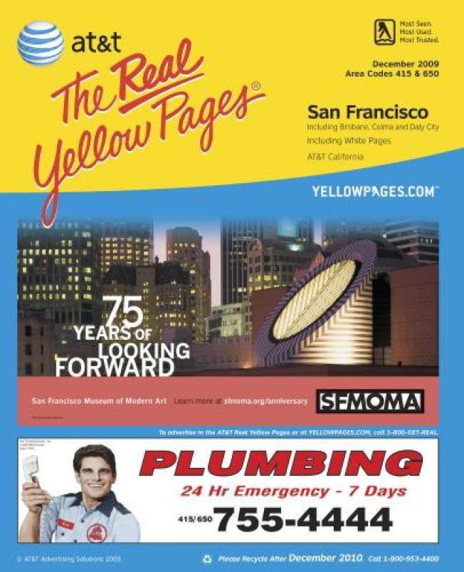 SF Ponders Ban on Yellow Pages