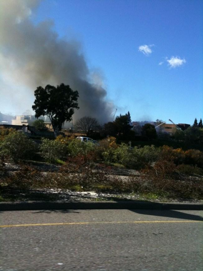 20 Fire Crews Wrestle With Walnut Creek Blaze