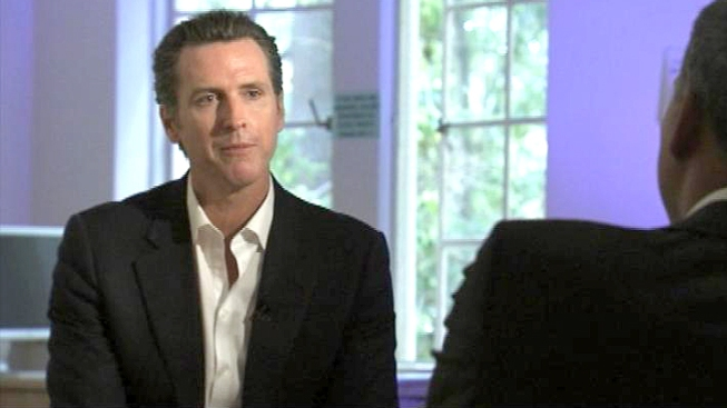 Lt. Gov. Gavin Newsom Addresses Online Education at SJSU