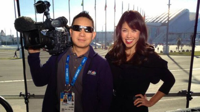 Janelle Wang's Sochi Blog Day 1: Only 130 Liveshots to Go!