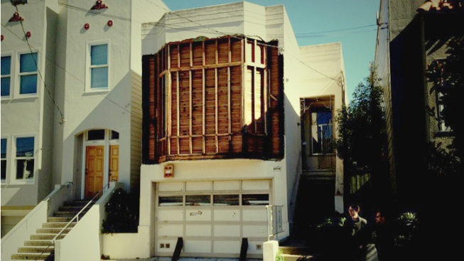 Old House Becomes Art Canvas in San Francisco