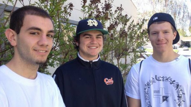 """Hooky Heroes"" Get Community Service After Ditching Class, Saving Woman From Fire"