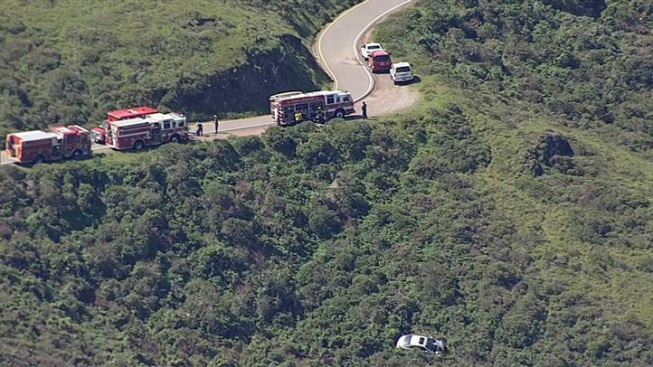 Crews Rescue Man Who Drove Off Hill in Marin Headlands