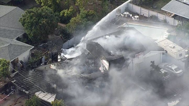 Two-Alarm Fire Causes $1M Damage to Cupertino Home; Family Dog Missing