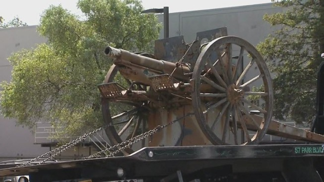 Alleged Cannon Thief Identified by Richmond Police