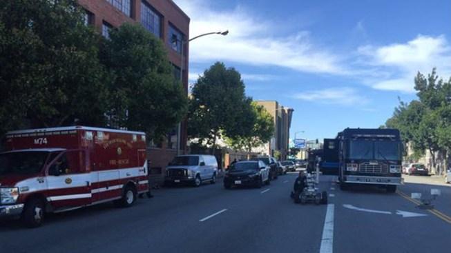 Police Clear Scene of Bomb Threat in San Francisco's SOMA