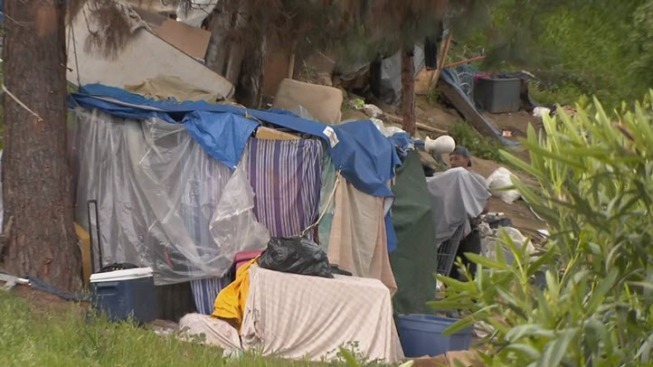 Caltrans Working to Fence Off Homeless Encampment in San Jose