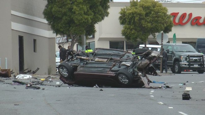 Speeding Driver Dies in Solo-Vehicle Crash in Daly City: Police
