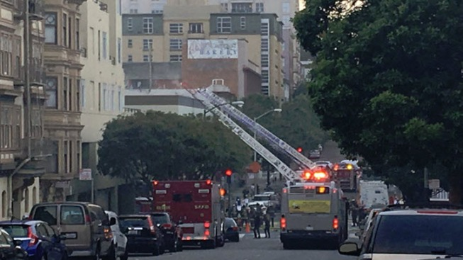Two-Alarm Fire Reported at San Francisco Home
