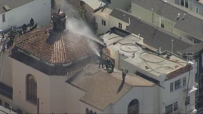 Crews Extinguish 2-Alarm Fire at San Francisco Church