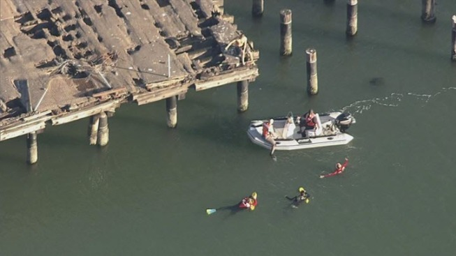 Suspect Surrenders After Trying to Swim Away From Police in San Francisco
