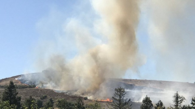 Brush Fire Prompts Evacuations in San Ramon