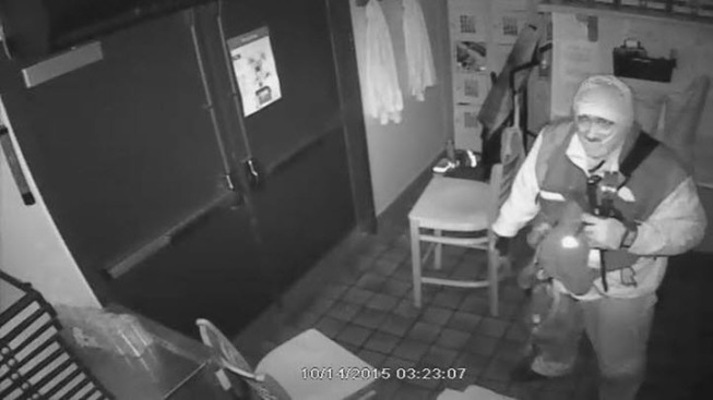 Danville Police Searching for Burglar Caught on Camera