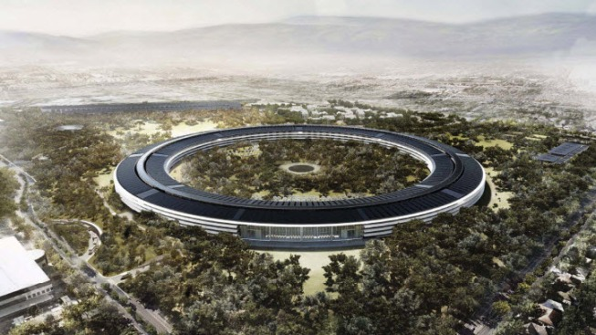 "Apple ""Spaceship"" Campus Construction Forces Permanent Closure of Cupertino Street"