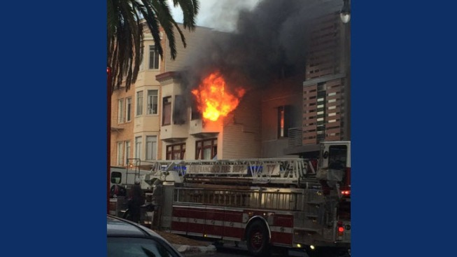 Crews Respond to Fire at 3-Story Apartment Building in San Francisco's Mission Dolores