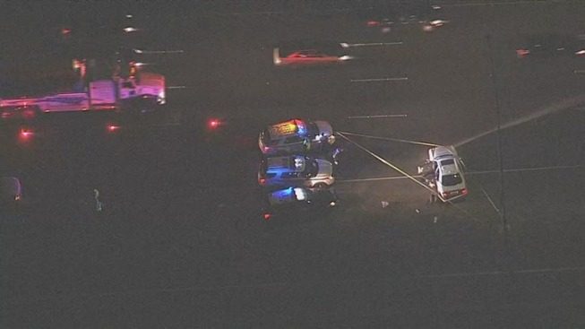 Shooting shuts down eastbound lanes of I-80 at American Canyon Rd
