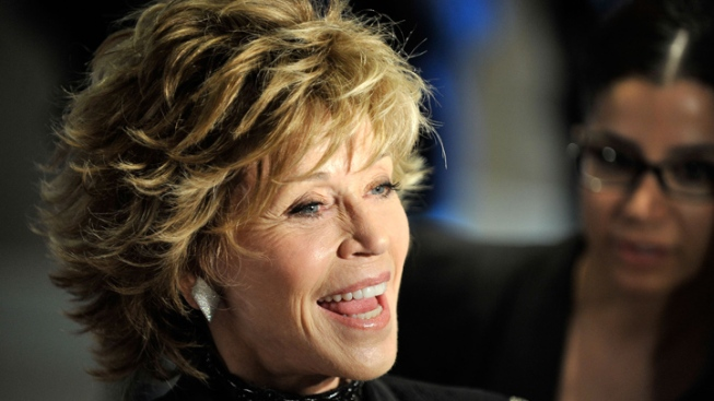 Jane Fonda to Add Prints By Dad's at Chinese Theatre
