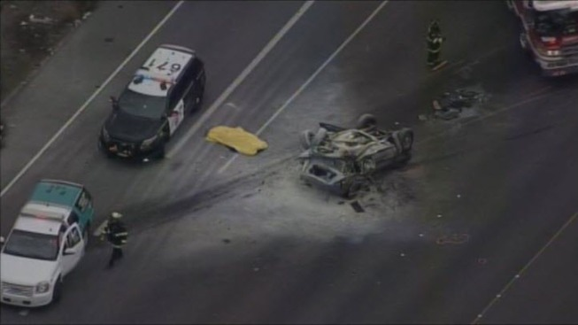 CHP Responding to Fatal Crash on Interstate 580 in Livermore