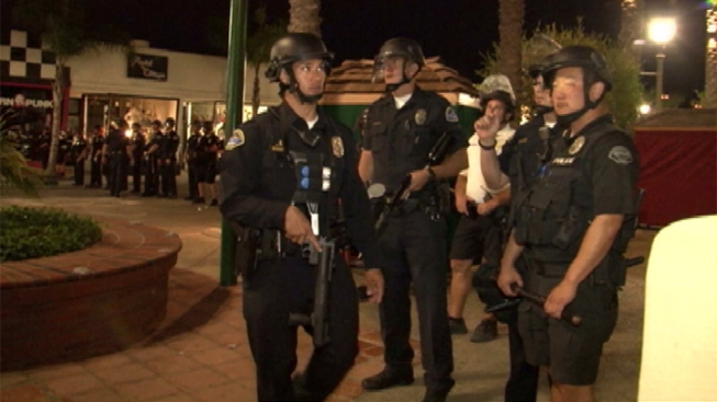 15-Year-Old Boy Arrested in Huntington Beach Rioting