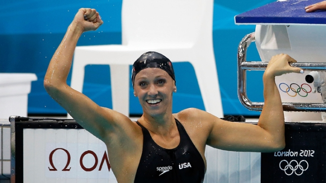 Cal Grad Dana Vollmer Wins Gold