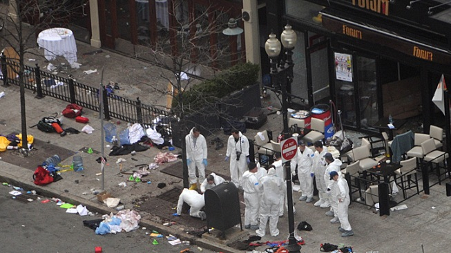 Boston Bombing Investigators Search for Man Who Left Bag at Blast Site