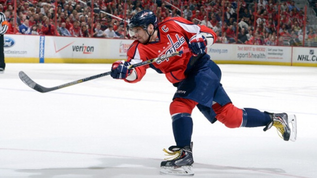 NHL Star Ovechkin Psyched for Greek Torch Moment