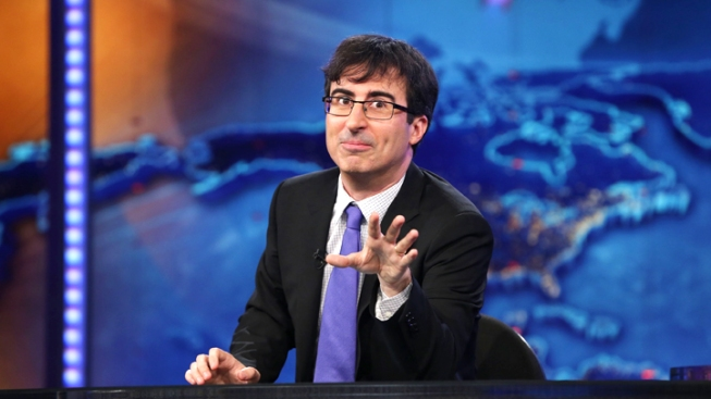 "John Oliver Exiting ""Daily Show"" for Own HBO Program"