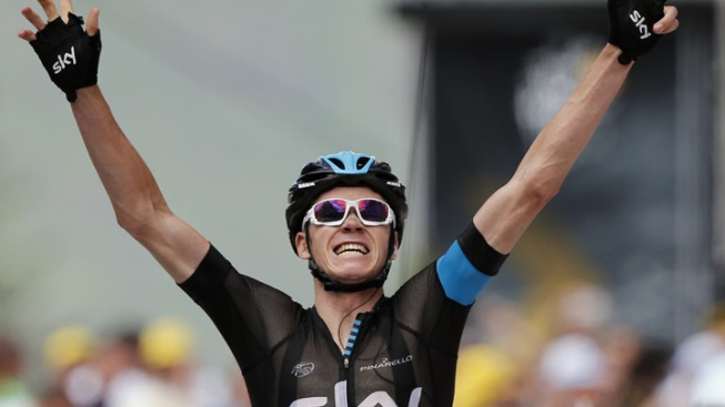 Dominant Froome Wins Stage 8 of Tour de France