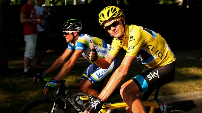 Froome Rides to Victory in 100th Tour de France