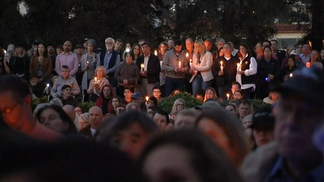 Thousands Attend Vigil for Montecito Mudslide Victims