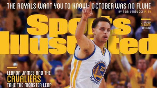 Steph Curry Lands Second Straight Sports Illustrated Cover