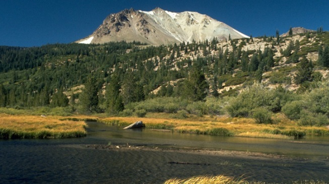 Car-Free Cycle: Lassen Volcanic Stretch