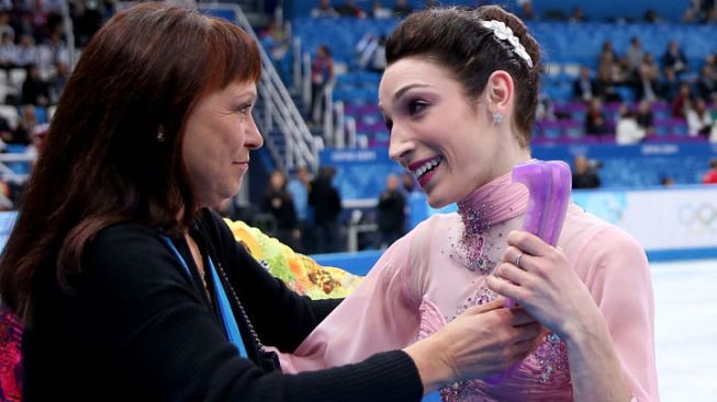 Meet Marina Zoueva: Ice Dancing's Other Big Winner Besides Meryl Davis, Charlie White