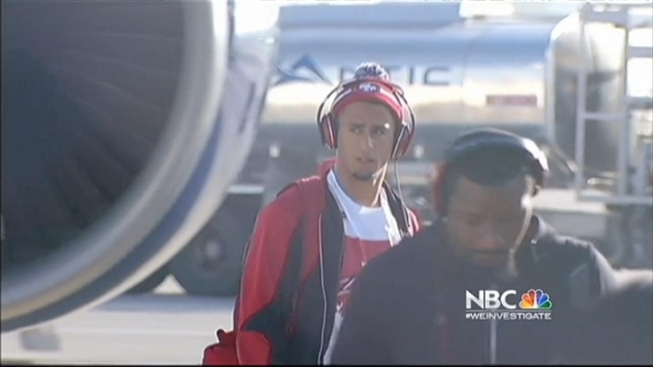 49er Treated With Surprise Welcome Home Party