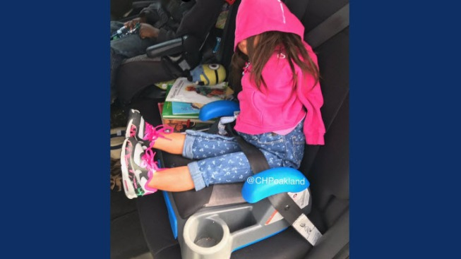 Busted: Driver Faces Ticket For Using Fake Child in I-80 Carpool Lane