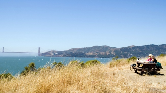 A Peaceful Spring Fest at Angel Island